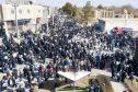گزارش تصویری فعالیت های کانون هنر و رسانه شهید آوینی هیئت در راهپیمایی ٢٢ بهمن ٩۶